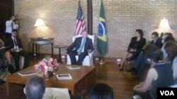 El embajador de Estados Unidos en Brasil, Thomas Shannon, asumirá en forma transitoria como subsecretario de Asuntos Políticos.
