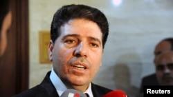 ဆီးရီးယား၀န္ႀကီးခ်ဳပ္ Wael al-Halki.