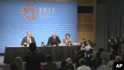 News conference at IMF, World Bank spring meetings