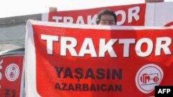 """Tarxtor komandasının oyununda """"Azərbaycan var olsun!"""" şüarı səsləndirilib"""