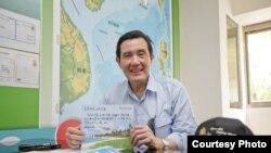 台湾总统马英九(台湾总统府)