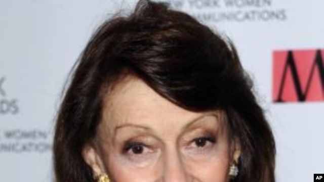 Evelyn Lauder attends the New York Women in Communications' 2011 Matrix Awards at the Waldorf-Astoria Hotel in New York. (File Photo - April, 11, 2011)