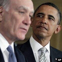 白宫幕僚长威廉•戴利和奥巴马总统