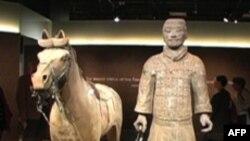 Терракотовые гвардейцы из Китая в вашингтонском музее