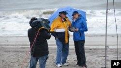 The Weather Channel se alista para la cobertura en directo de la tormenta que se espera impacte Carolina del Sur este domingo.
