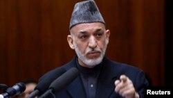 Afghan President Hamid Karzai, Mar. 6, 2013.
