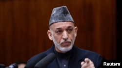 Tổng thống Afghanistan Hamid Karzai.