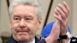 Đương kim Thị trưởng Sergei Sobyanin là người được điện Kremli ủng hộ.