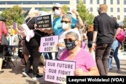 تظاهرات زنان در شهر واشنگتن - ۱۰ شهریور ۱۴۰۰