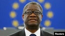 Denis Mukwege, ginecólogo congolés que el lunes 10 de diciembre recibirá el Premio Nobel de la Paz 2018, junto con la activista yazidi Nadia Murad.