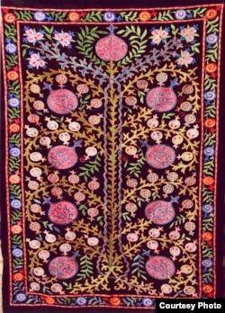 Farhod Ramazonov and Muhabbat Qo'chqorovaning ishidan namuna.