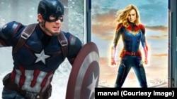 captain america vs captain marvel