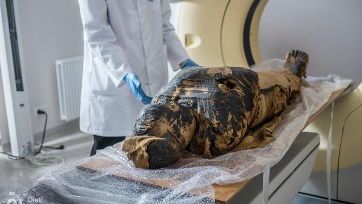 Mumi Hamil Pertama Ditemukan di Polandia