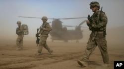 美軍將會有部份於2014年後留駐阿富汗(資料圖片)