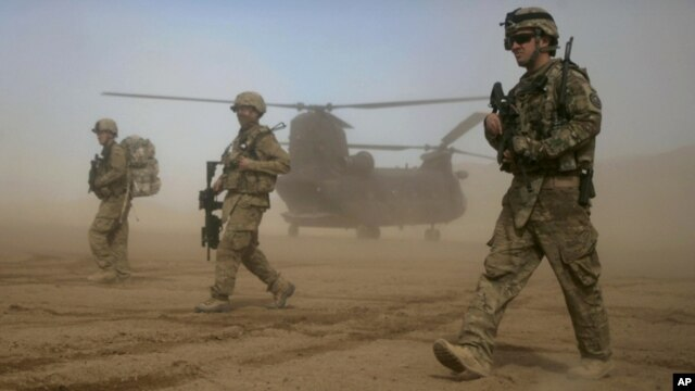 Está previsto que para fines de 2014 no queden tropas de combate estadounidenses en Afganistán.