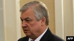 ალექსანდრე ლავრენტიევი, რუსეთის საგანგებო დესპანი სირიის საკითხებში