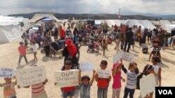 En la actualidad hay más de 65 millones de personas desplazadas, el número más alto jamás registrado.