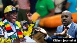 UMongameli Mnangagwa loMnu. Chamisa
