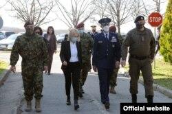 Komandant američke Komande za specijalne operacije u Evropi (SOCEUR), general-major Dejvid Tabor tokom zvanične posete Beogradu, 2. marta 2021. (Foto: Ministarstvo odbrane Republike Srbije)