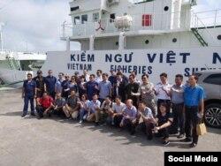 Hoa Kỳ hỗ trợ Việt Nam về quản lý nghề cá và khả năng thực thi pháp luật biển. Photo Facebook US Embassy Hanoi