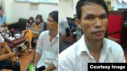 A suspect of Cambodia child abused in Mondulkiri province was arrested on December 07, 2016 in Ho Ching Ming City, Vietnam. (Facebook screenshot/VOA Khmer)