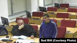 Arhiv - Hamza Labidi u sudnici Suda BiH