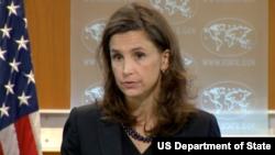 엘리자베스 트뤼도 국무부 대변인 (자료사진)