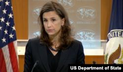 美國國務院新聞辦公室主任伊麗莎白·特魯多(圖片來源:美國國務院)