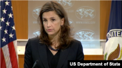 美國國務院新聞辦公室主任伊麗莎白特魯多(圖片來源:美國國務院)