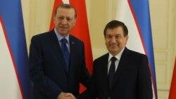 Erdog'an Mirziyoyev bilan muloqot o'tkazdi