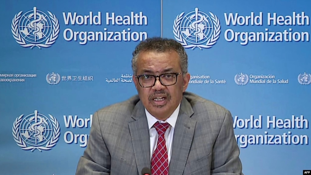 Tổng giám đốc WHO, Tedros Adhanom Ghebreyesus.