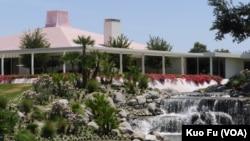 Điền trang Sunnylands ở California, nơi 2 nhà lãnh đạo mở các cuộc thảo luận