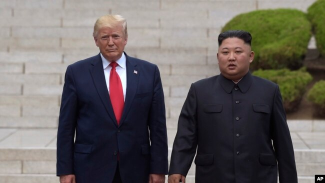President Trump met Kim Jong Un in June.