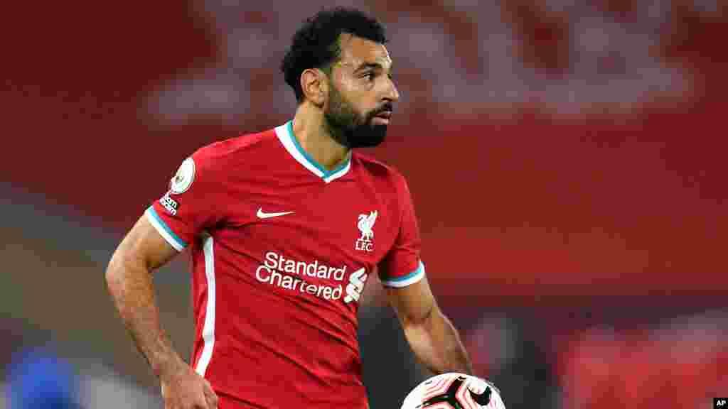 Mohammed Salah, Liverpool - Striker Rahotanni daga kasar Masar na cewa dan wasan kungiyar kwallon kafa ta Liverpool Mohammed Salah ya kamu da cutar COVID-19.