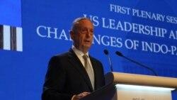 马蒂斯:中国要为在南中国海岛礁的军事化承担后果