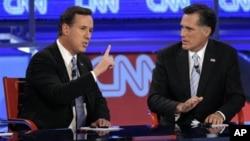 22일 애리조나 주 메사에서 열린 공화당 후보 합동 토론회.