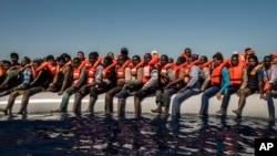 بیش از ۲۹۰۰ پناهجو در نیمۀ نخست سال روان در بحیرۀ مدیترانه غرق شد