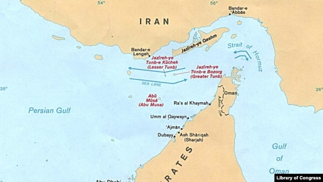 Disputed Persian Gulf Islands