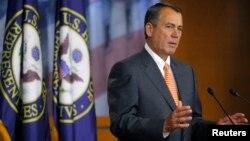 Ketua DPR AS John Boehner mendesak pemerintahan Obama merilis email-email terkait insiden Benghazi untuk dikaji lebih lanjut (foto; dok).