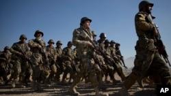 امروز طی محفلی در کابل از نیروهای امنیتی افغان تقدیر شد