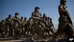 Бойцы афганской армии
