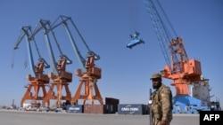 سی پیک میں بلوچستان کی بندرگاہ گوادر کو کلیدی حیثیت حاصل ہے۔ (فائل فوٹو)