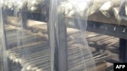 Các thanh nhiên liệu đã dùng tại lò phản ứng hạt nhân Yongbyon ở Bắc Triều Tiên