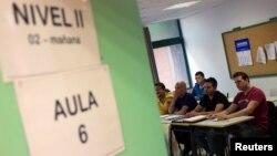 Časovi u centru za obrazovanje u Madridu