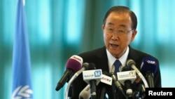 Sekretaris Jenderal PBB Ban Ki-moon (Foto: dok).