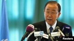 Ban Ki-moon, le secrétaire général des Nations unies