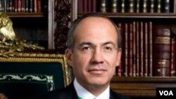 Prezidan Meksiken an Felipe Calderon