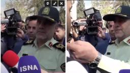 یک متهم بازداشتشده در مقابل رئیس پلیس تهران از مرگ عمویش براثر ضرب و جرح در زمان بازداشت گفت.