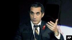 Diễn viên hài người Ai Cập Bassem Youssef