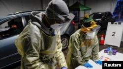 Testiranje na koronavirus u Milwaukeeu, 21. oktobar 2020.(Foto: Rojters/Bing Guan)